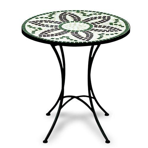 Luxus Mosaiktisch Flora Bistrotisch Mosaik Bistro Beistelltisch
