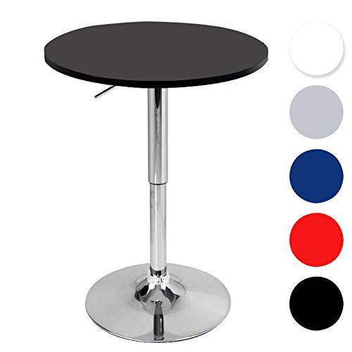 Woltu bt02sz a bartisch bistrotisch design tisch mit for Design bistrotisch