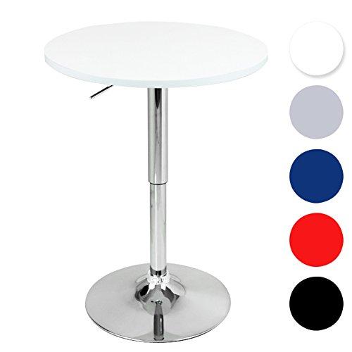 Woltu Bt02ws A Bartisch Bistrotisch Design Tisch Mit Trompetenfuss