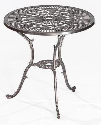 41B4+EZCznL - Gartentisch LUGANO aus Aluminiumguss graphit, wetterfefst